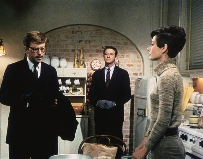 Audrey Hepburn, Richard Crenna, Alan Arkin