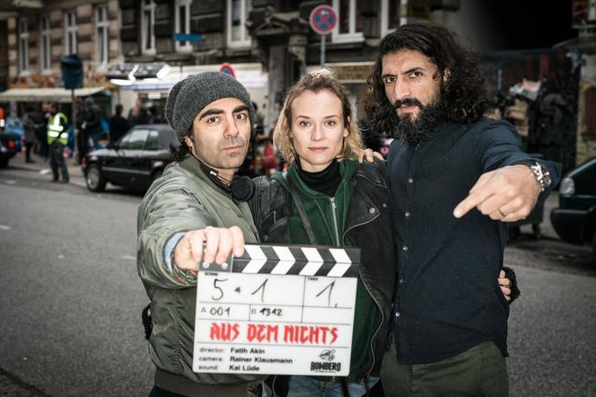 Diane Kruger, Fatih Akin, Niman Acar