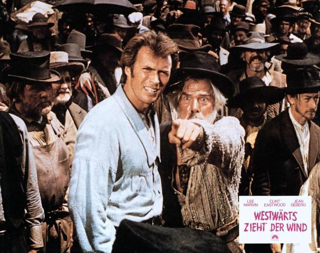 Clint Eastwood, Lee Marvin