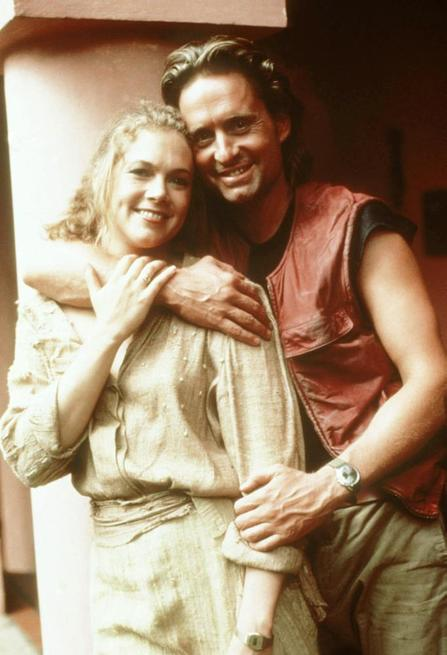 Michael Douglas, Kathleen Turner