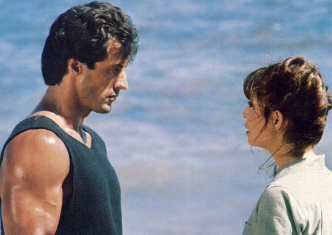 Talia Shire, Sylvester Stallone