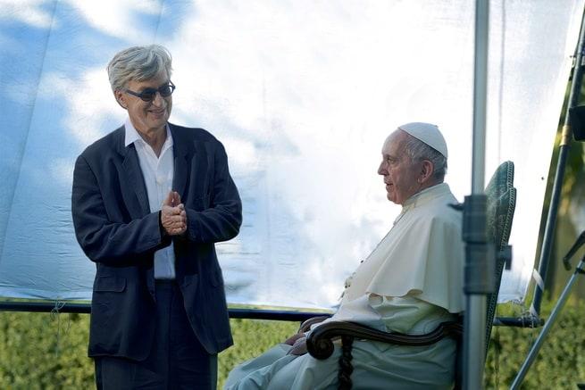 Wim Wenders, Papa Francesco