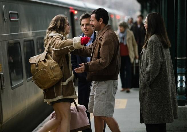 Adam Sandler, Ben Stiller, Elizabeth Marvel, Grace Van Patten