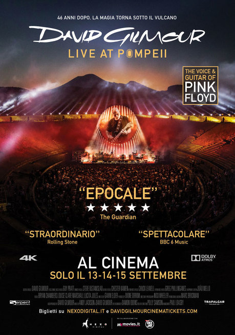 0/7 - David Gilmour Live at Pompeii