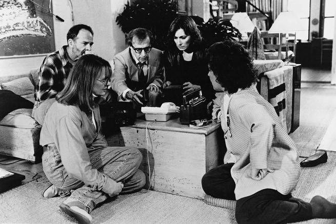 Anjelica Huston, Woody Allen, Diane Keaton, Ron Rifkin, Joy Behar