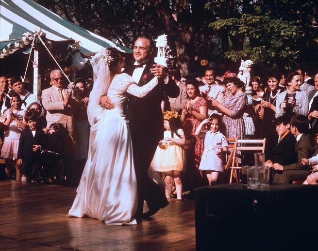 Marlon Brando, Talia Shire