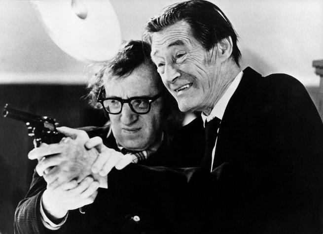 Woody Allen, John Carradine