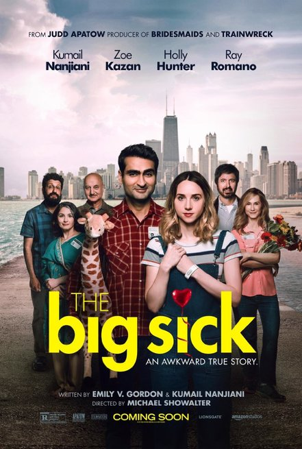 2/7 - The Big Sick - Il matrimonio si può evitare... l'amore no