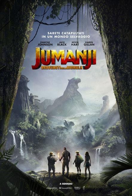 2/7 - Jumanji: Benvenuti nella giungla