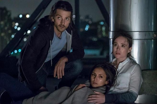 Diego Luna, Ellen Page, Nina Dobrev
