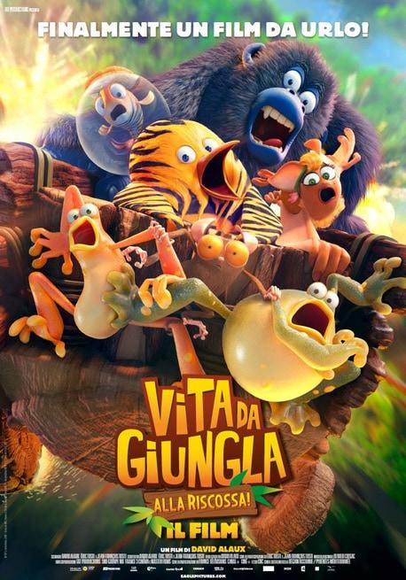 Vita da giungla alla riscossa: Il film (2017) .mp4 BrRip X264 AAC - ITA