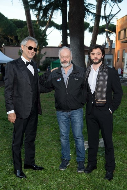 Andrea Bocelli, Michael Radford, Toby Sebastian