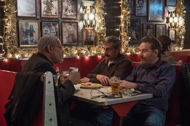 Bryan Cranston, Steve Carell, Laurence Fishburne