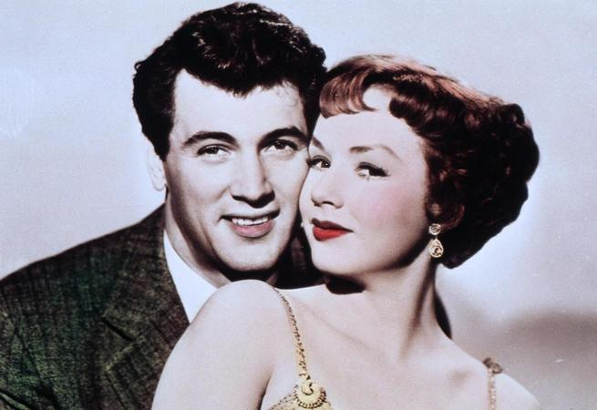 Rock Hudson, Piper Laurie
