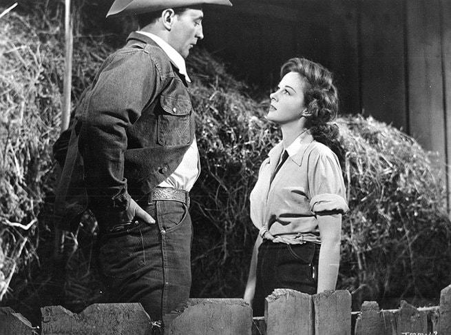 Robert Mitchum, Susan Hayward