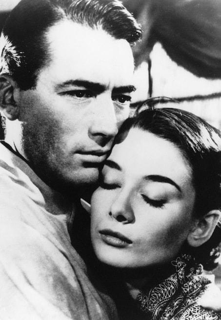 Audrey Hepburn, Gregory Peck