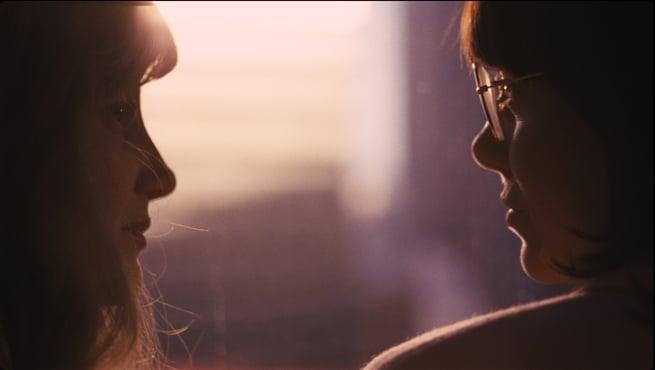 Andrea Riseborough, Emma Stone