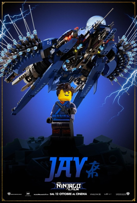 1/5 - Lego Ninjago: Il film