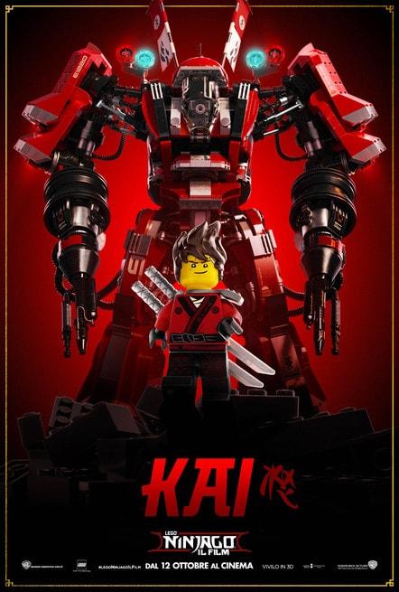 2/5 - Lego Ninjago: Il film