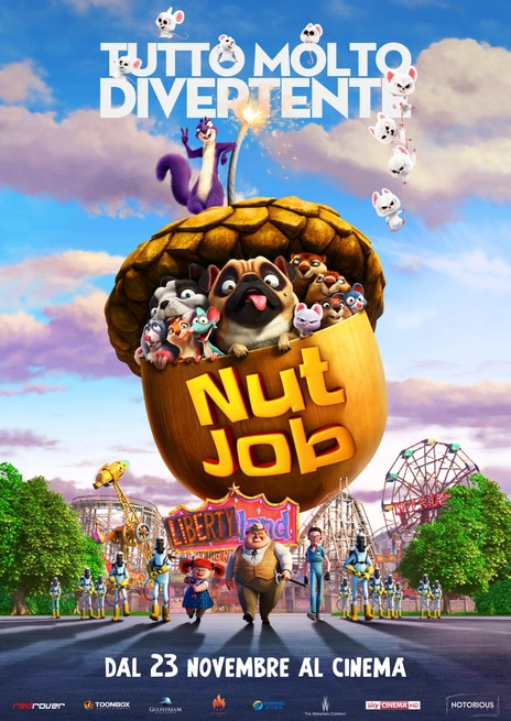 Nut Job 2 - Tutto molto divertente (2017) .mp4 BrRip AAC - ITA