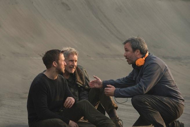 Denis Villeneuve, Ryan Gosling, Harrison Ford