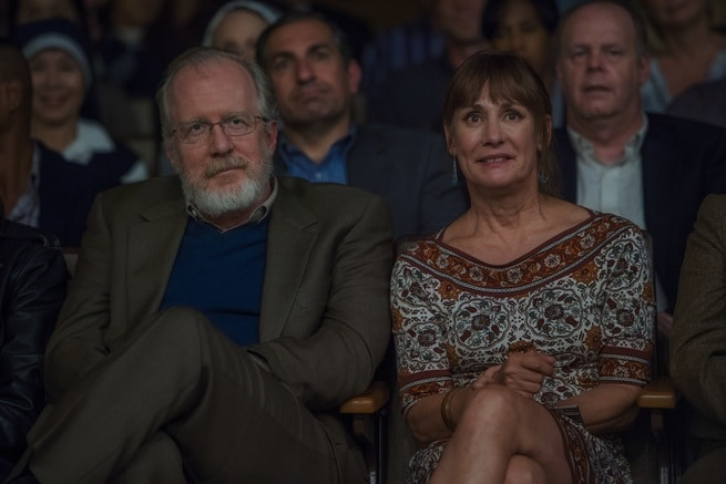 Laurie Metcalf, Tracy Letts