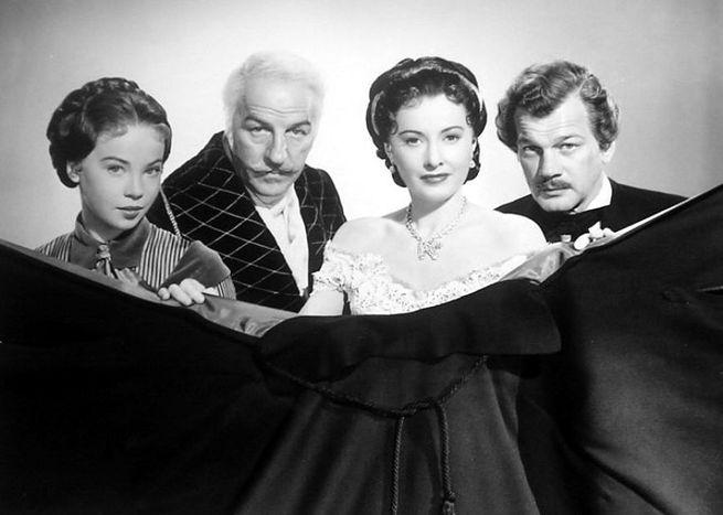 Barbara Stanwyck, Joseph Cotten, Leslie Caron