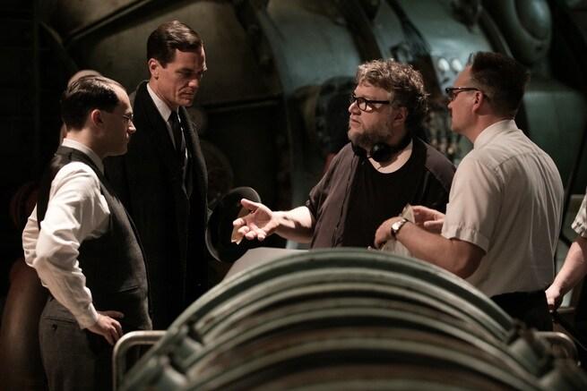 Michael Stuhlbarg, Michael Shannon, Guillermo Del Toro, David Hewlett