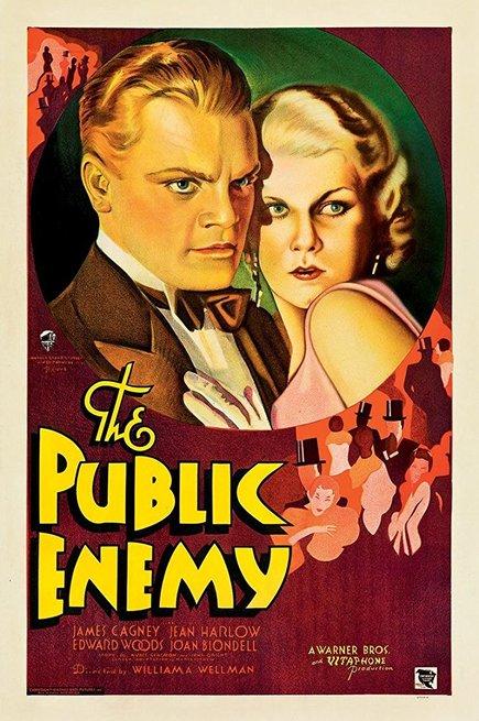 Risultati immagini per nemico pubblico 1931 poster