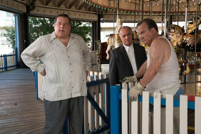 Steve Schirripa, Tony Sirico, James Belushi
