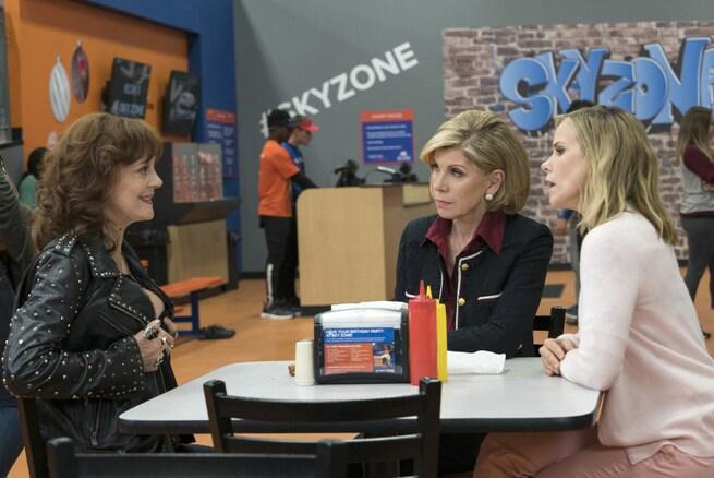 Cheryl Hines, Christine Baranski, Susan Sarandon