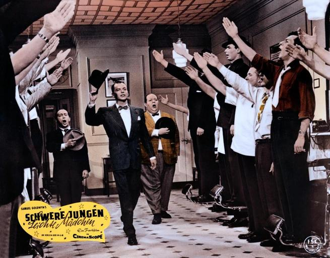 Frank Sinatra, Stubby Kaye