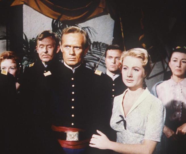 Richard Widmark, Shirley Jones