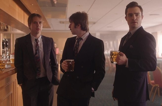Ed Westwick, Joe Thomas, James Buckley