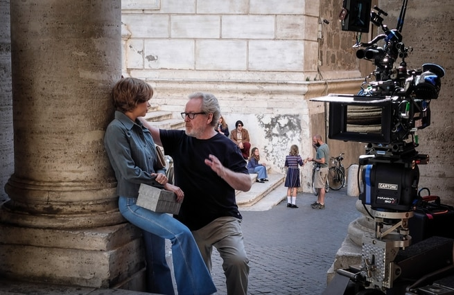 Ridley Scott, Michelle Williams