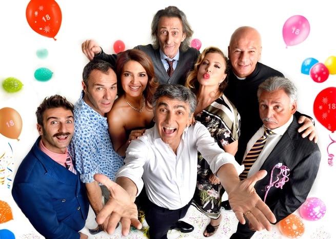 Massimiliano Gallo, Vincenzo Salemme, Tosca D'Aquino, Iaia Forte, Nando Paone, Francesco Paolantoni, Andrea Di Maria, Giovanni Cacioppo