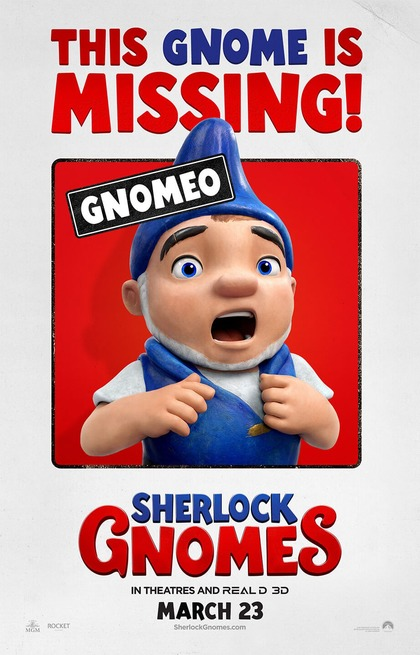 1/6 - Gnomeo & Giulietta: Sherlock Gnomo