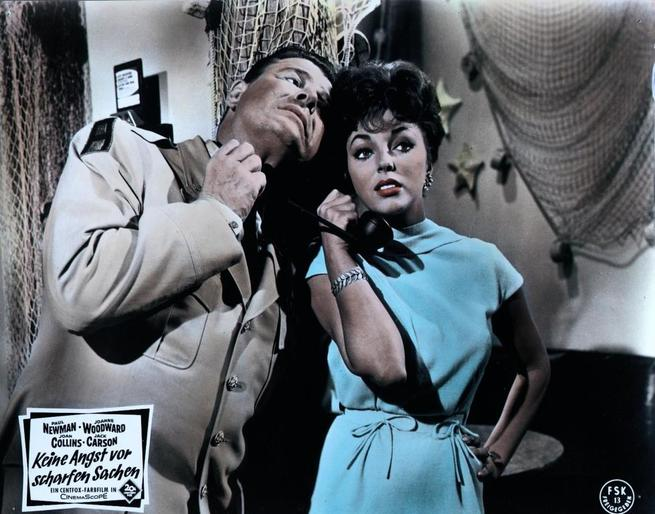 Joan Collins, Jack Carson