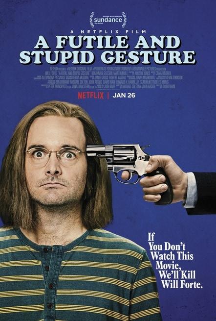 A Futile and Stupid Gesture (2018) .mp4 WEBRip X264 AAC - ITA