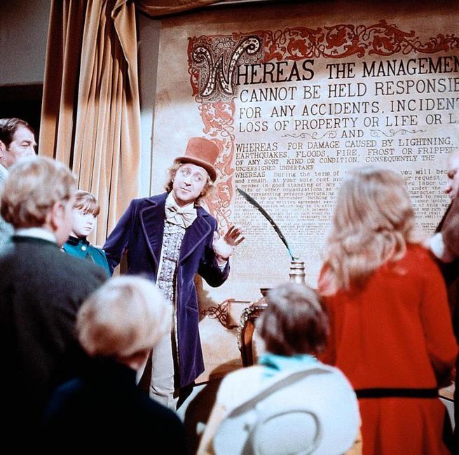 1/7 - Willy Wonka e la fabbrica di cioccolato