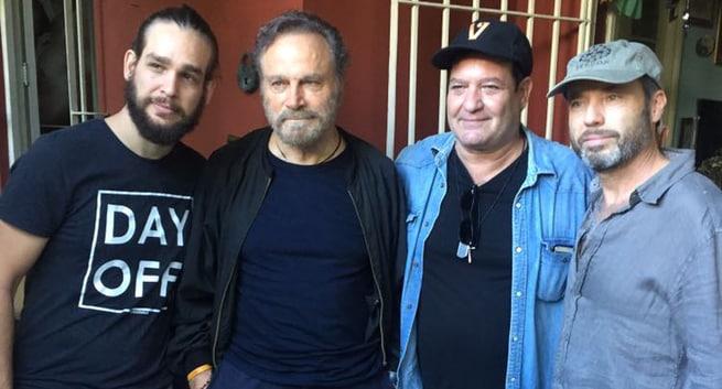 Paolo Consorti, Jorge Perugorría, Franco Nero, Andros Perugorría