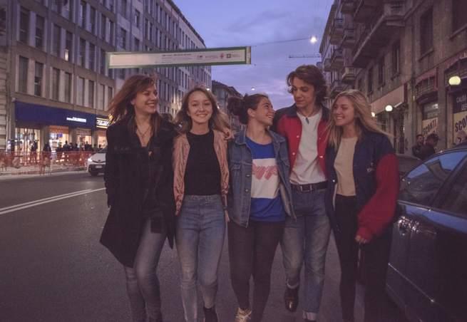 Francesca Mazzoleni, Matilde Passera, Margherita Morchio, Matteo Oscar Giuggioli, Sofia Viscardi