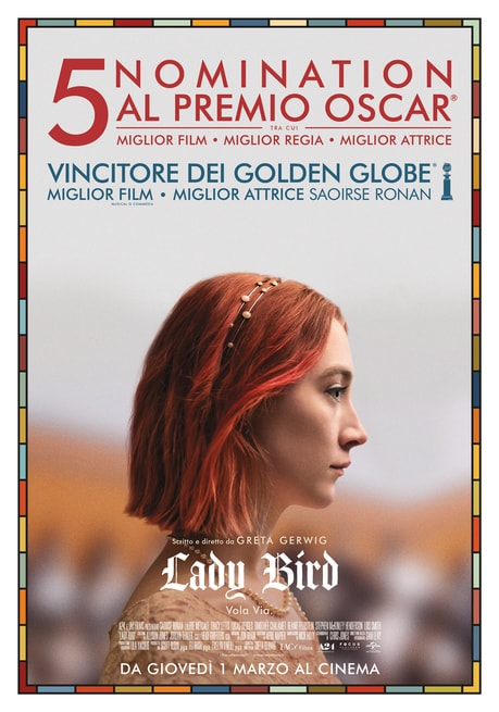 Image result for lady bird locandina