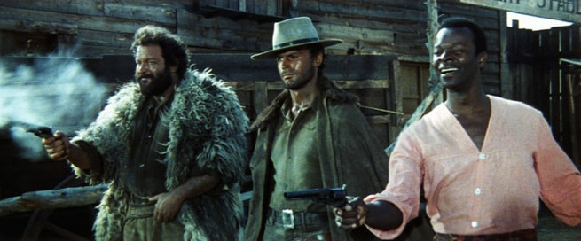 Terence Hill, Brock Peters, Bud Spencer