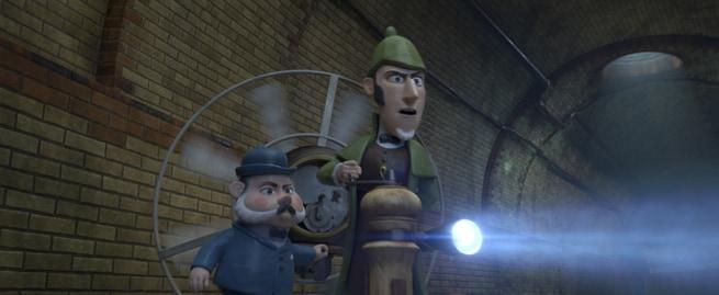 1/7 - Gnomeo & Giulietta: Sherlock Gnomo