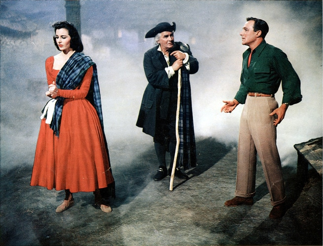 Gene Kelly, Cyd Charisse, Barry Jones