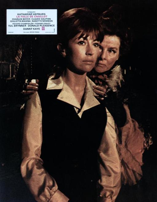 Katharine Hepburn, Nanette Newman