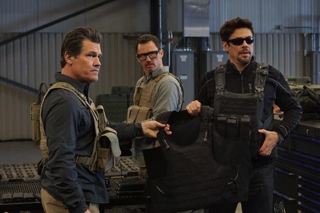 Josh Brolin, Jeffrey Donovan, Benicio Del Toro
