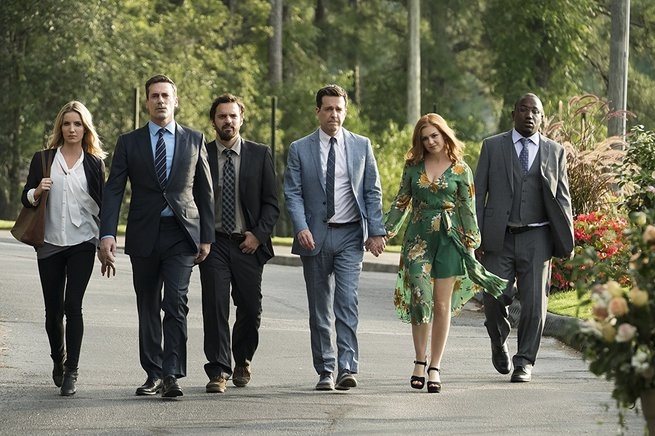 Isla Fisher, Jon Hamm, Ed Helms, Annabelle Wallis, Jake Johnson, Hannibal Buress