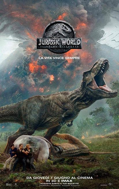 1/6 - Jurassic World: Il regno distrutto